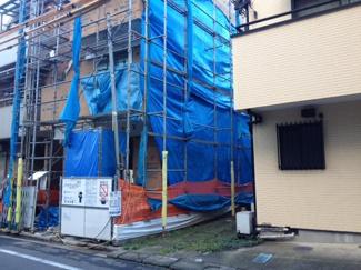 大田区鵜の木3丁目の新築戸建 外観