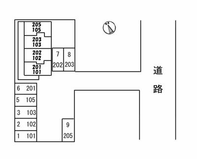 【区画図】エクセル旗ヶ崎