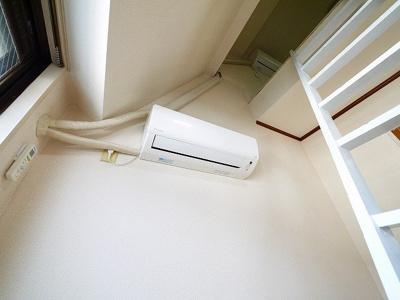 エアコンが付いています。