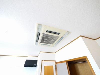エアコン付きで快適です
