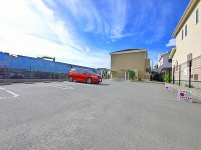 自転車置き場が広いです