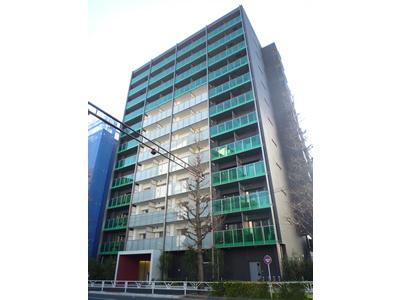 パークハビオ渋谷神山町の外観です。