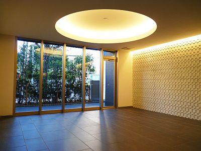 パークハビオ渋谷神山町のエントランスホールです。