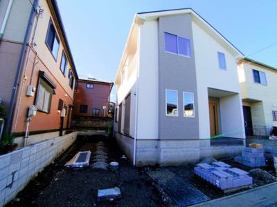 【外観】さいたま市見沼区大谷 デザイン新築住宅