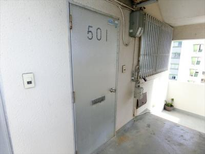 【玄関】儀間アパートA棟