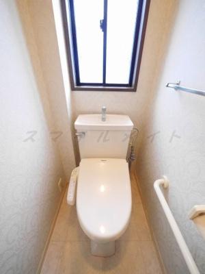 バリアフリー使用のトイレ