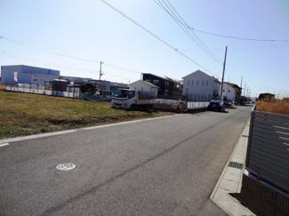 木更津市金田東 土地 袖ヶ浦駅 北側約6m道路で車のすれ違いも安心の広さ♪