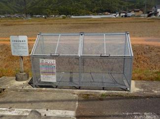 キッチンの右上
