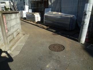 杉並区 上高井戸3丁目 新築戸建 前面道路