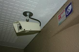 共用部 防犯カメラも設置されて安心して過ごせます