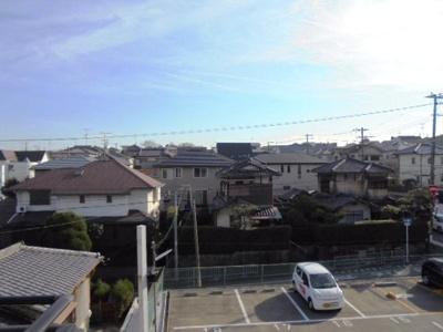 2階南側バルコニーからの眺望★