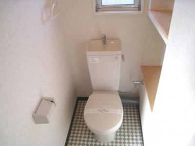【トイレ】ハイツ滋賀里