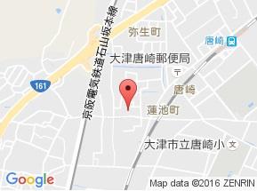 【地図】ハイツ滋賀里