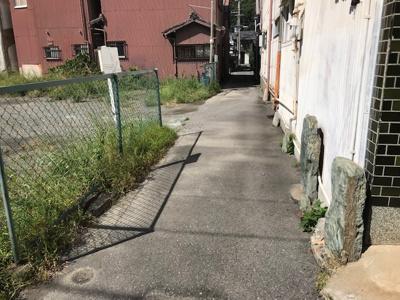 【前面道路含む現地写真】【売地】海南中学校区・55663