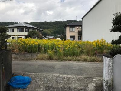 【外観】【売地】野上中学校区・55704