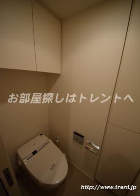 【トイレ】パークハビオ渋谷神山町