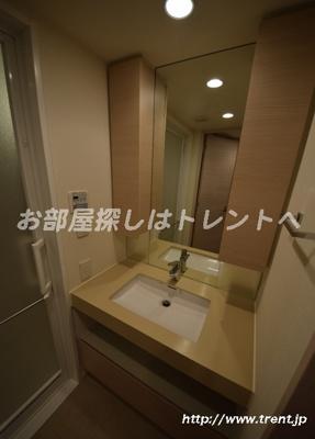 【独立洗面台】パークハビオ渋谷神山町