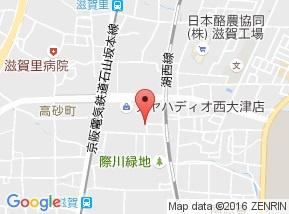 【地図】サンビレッジ西大津B棟