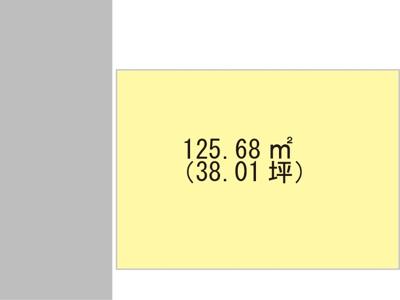 【区画図】【売地】打田中学校区・29336