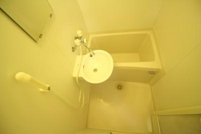 【浴室】ブルーファン