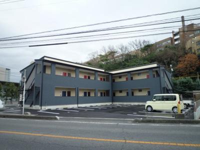 松島 ウィステリアA 1K 外観