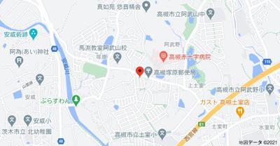 【地図】塚原4丁目戸建て