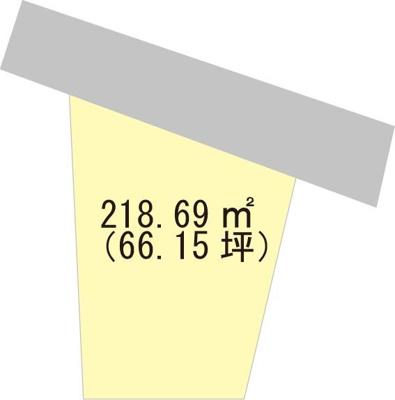 【区画図】【売地】岩出中学校区・56182