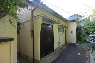 【外観】朝日住宅二戸一平屋