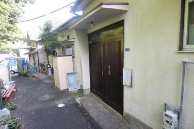 【エントランス】朝日住宅二戸一平屋