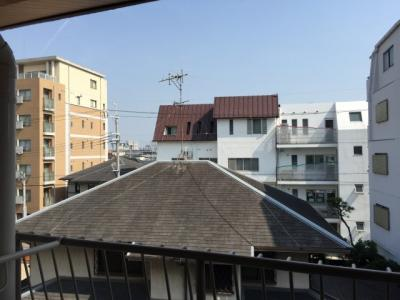 3階和室からの眺望 明るく抜けています