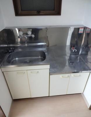 ミモザビル ガスコンロ設置可のキッチン