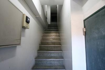 ミモザビル 共用廊下