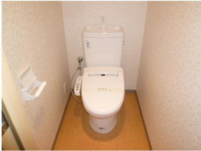 【トイレ】プレジールコートカルハマ