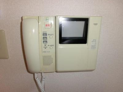 TVモニター付きインターホン オートロック