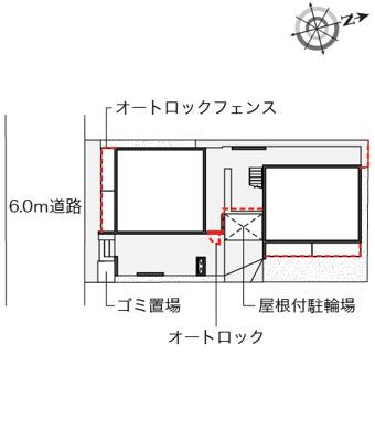 【地図】ウィステリアⅣ
