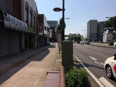 【前面道路含む現地写真】本町売地