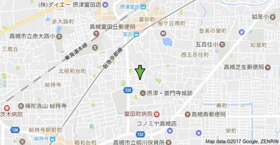 【地図】暁マンション (株)Roots