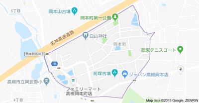 【地図】ラークハイツ (株)Roots