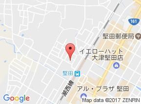【地図】シティパレス・堅田駅前