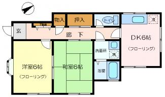 各階1世帯で隣室がありません