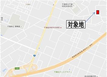 【地図】花見川区大日町 売地