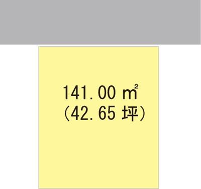 【区画図】【売地】高積中学校区・56139