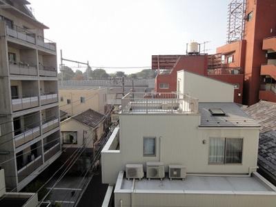 寺島ハイツ ベランダからの眺望