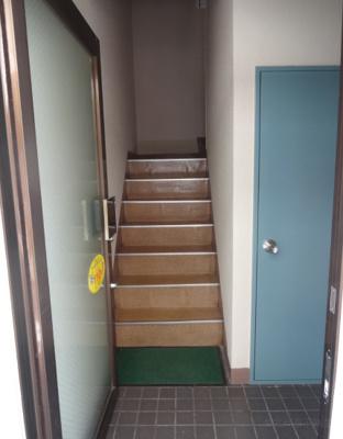 寺島ハイツ 共用階段