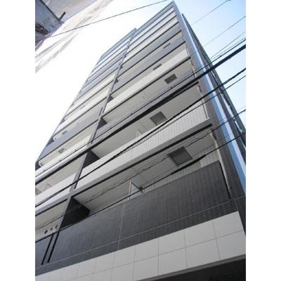 プレール・ドゥーク渋谷初台の外観です。