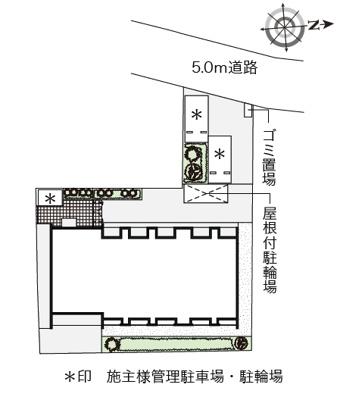 【区画図】クレイノシャンドフルール