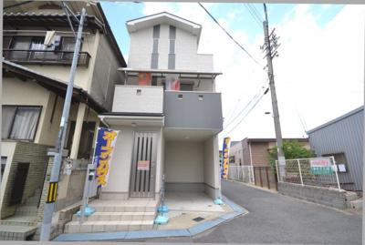 【外観】堺市北区百舌鳥西之町 中古戸建