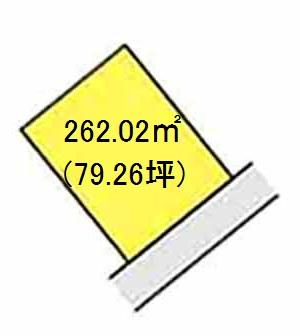 【区画図】【売地】下津第二中学校区・29371
