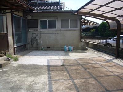 【駐車場】石生駅東貸家