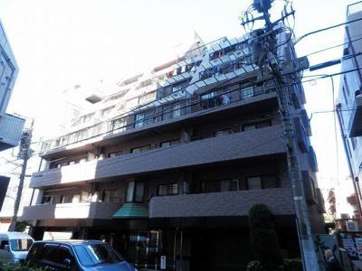 渋谷アムフラットの外観です。